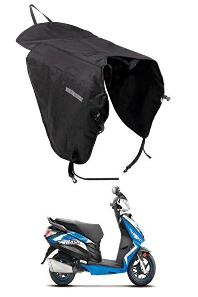 OkkoRed Motosiklet Scooter Kışlık Korumalı Diz Rüzgar Koruyucu Yağmurluk Siperlik Rüzgarlık 7834bh5