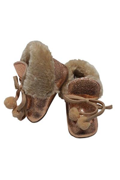Funny Baby Kız Bebek Bakır Ayakkabı