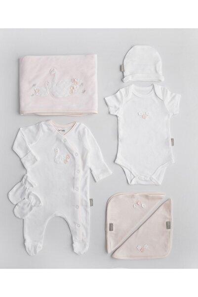 Chakra Swan Yeni Doğan Hastane Çıkışı Beyaz/Pembe