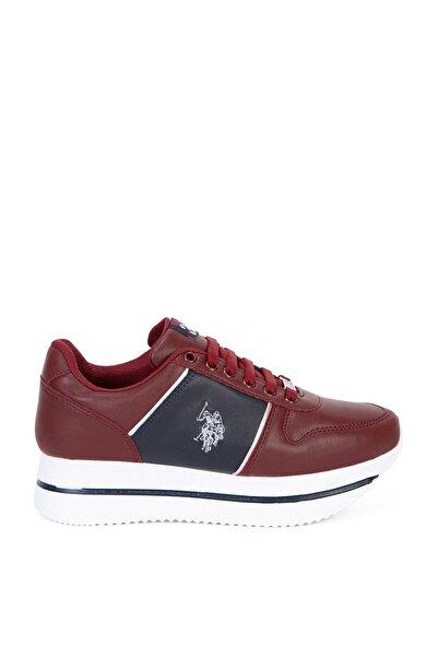 U.S. Polo Assn. Kirmizi Kadın Ayakkabı