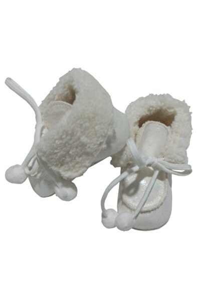 Funny Baby Kız Bebek Beyaz Elagance Ilk Adım Ayakkabısı