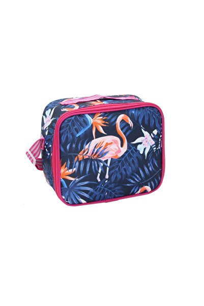 Cambridge Polo Club Unisex Lacivert Flamingo Termoslu Beslenme Çantası Plbsl80011 204