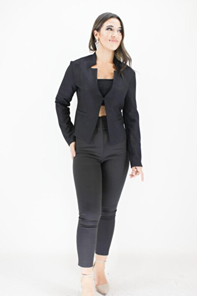Erdem Kadın Siyah Ceket