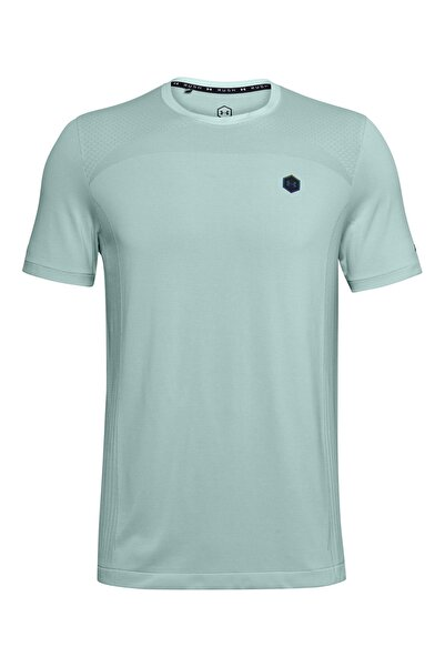 Under Armour Erkek Spor T-Shirt - Ua Rush Seamless Fitted Ss - 1351448-477