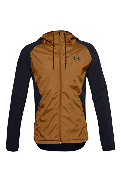 Under Armour Erkek Spor Sweatshirt - Stretch-Woven Hooded Jacket - 1352021-002