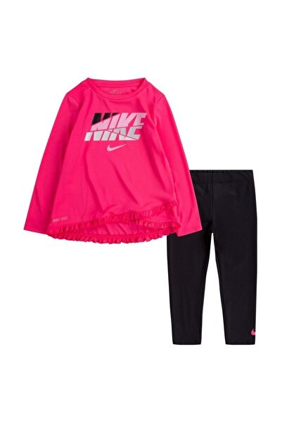 Nike Çocuk Pembe Crossover Tunıc Leggıng Set 36G814-023