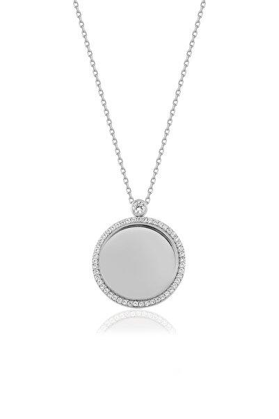 Genesis Kadın Gümüş Silver Taşlı Kolye  925 Ayar