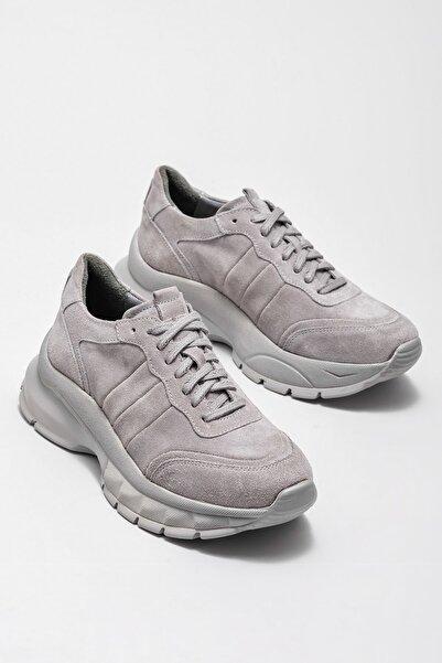 Elle Shoes Kadın Watts Grı Sneaker 20KSLG-5278