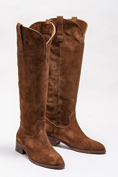 Elle Shoes Kadın Symer Taba Çizme 20K009