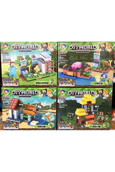Tek Favorim Minecraft Lego Seti Toplam 278 Parça Yeni Seri