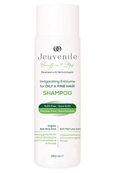Jeuvenile İnce Telli Kolay Yağlanan Saçlar İçin Sülfatsız Dökülme Karşıtı Şampuan