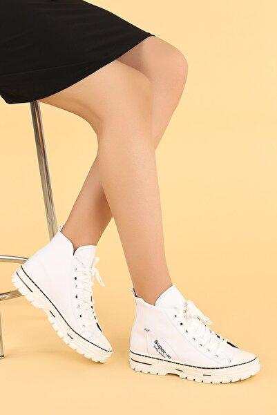 Ayakland 110 Cilt Günlük Termo Taban Bayan Bot Ayakkabı