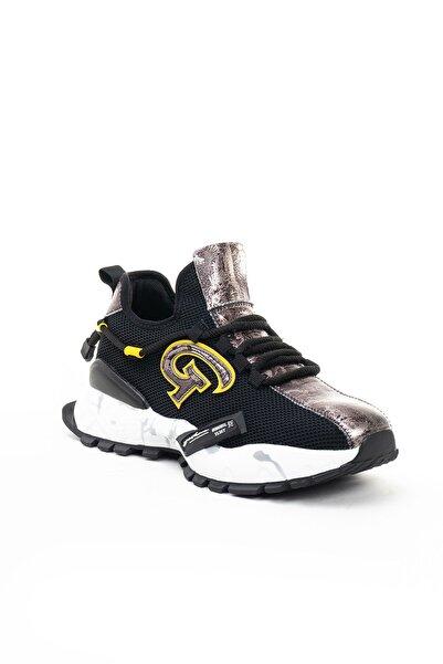 Guja Erkek Siyah Deri Casual Ayakkabı