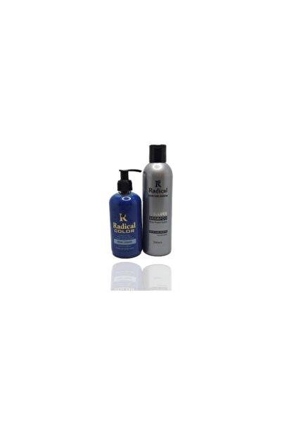 Radikal Turkuaz Boya ve Silver Şampuan