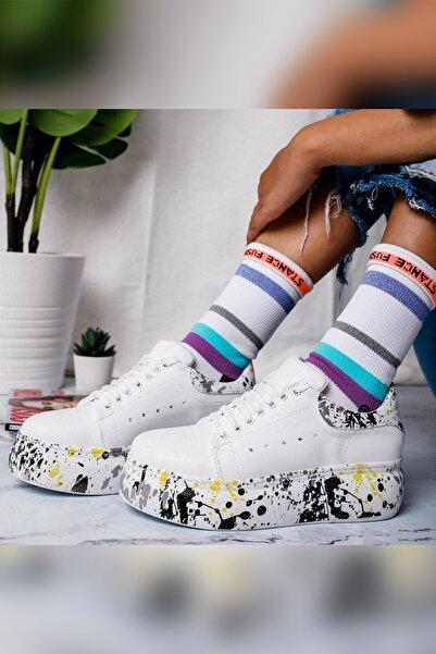 Limoya Kadın Sarı Casual Ayakkabı 19PP132