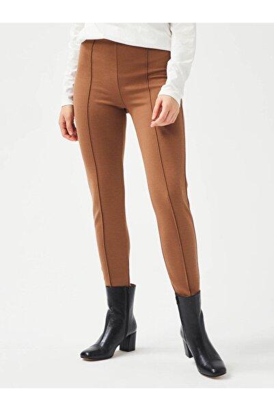 Xint Kadın Camel Rahat Kesim Sweat Pantolon