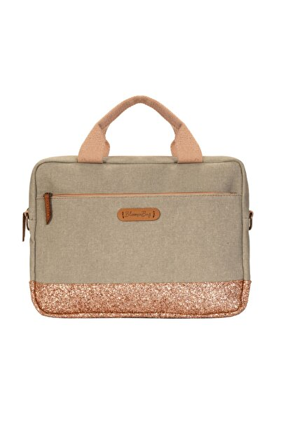 BloominBag Greenish Glitter 13-14 Inch Macbook / Laptop Çantası