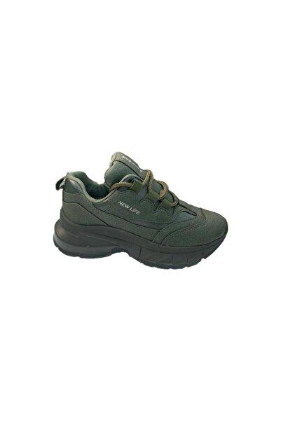 Stone Kadın Yeşil Spor Ayakkabı