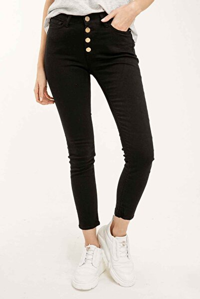 Replay Kadın Siyah Pantolon