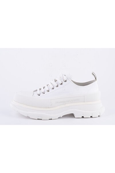 ALEXANDER MCQUEEN Erkek Beyaz Sneakers