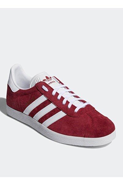 adidas Unisex Beyaz-Bordo Sneaker B41645 Gazelle Lifestyle