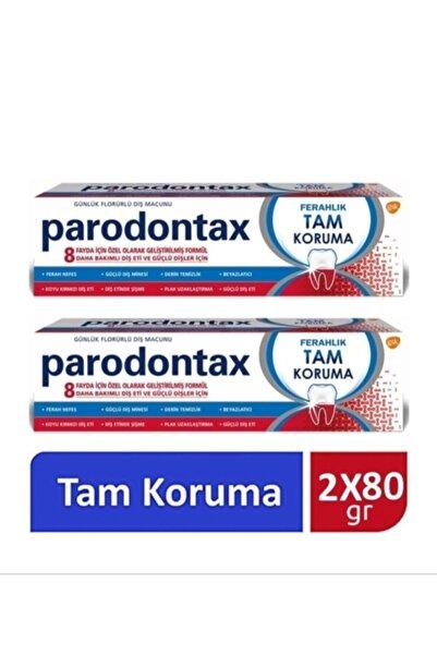 Parodontax Günlük Florürlü Diş Macunu Ferahlık Tam Koruma 80 Gram X 2