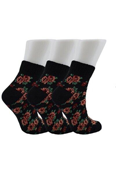 Tutku Kadın Siyah Kışlık Çorap 6 Lı