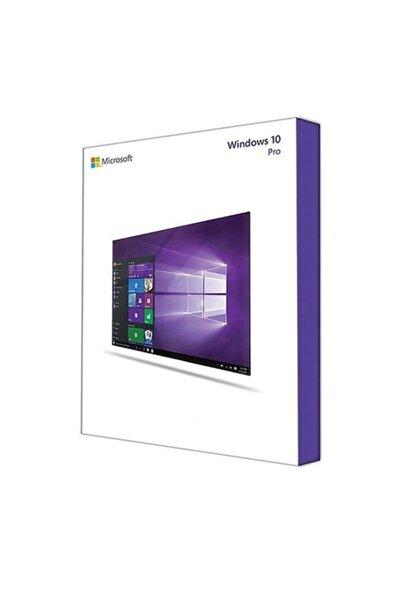 MICROSOFT Windows 10 Pro Türkçe 32-64 Bit Fqc-09127 Kutulu