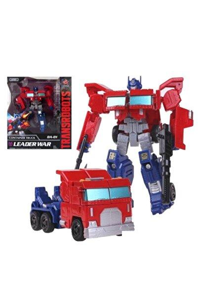 LightCrop Transformers 'optimus Prime' Metal Aksamlı Arabaya Dönüşen Robot