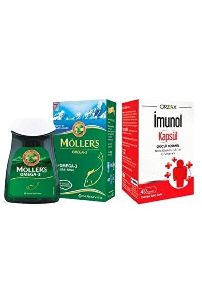 Mollers Möller's Omega 3 Balık Yağı 60 Kapsül Ve Imunol 40 Kapsül