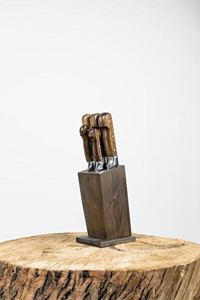 Lazoğlu El Yapımı Profesyonel Mutfak Bıçak Seti 6 Lı