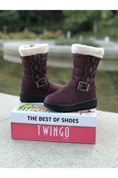 Twingo Kız Bordo Kışlık Günlük Bot