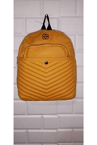 miran çanta Kadın Sarı Sırt Çantası