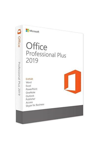 MICROSOFT Office 2019 Professional Plus Dijital Lisans Anahtarı