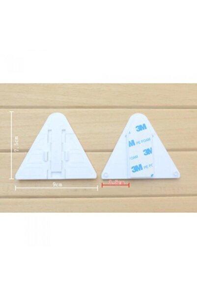 Huramarketing Çocuk Güvenlik Koruma Raylı Kapı, Dolap Kilidi (üçgen)