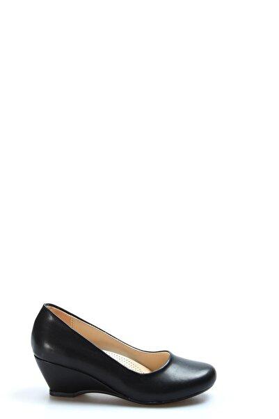 FAST STEP Kadın Siyah Dolgu Topuk Ayakkabı 919za3000