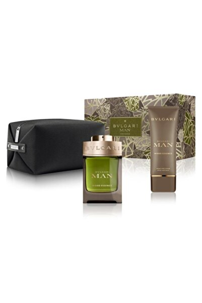 Bvlgari Man Wood Essence Edp 100 ml Erkek Parfüm Seti 783320404597