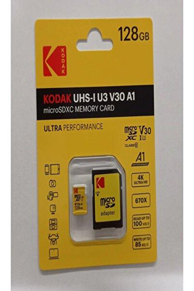 Kodak 128gb Microsd Hafıza Kartı Ultra Class 10 Uhs-1 U3