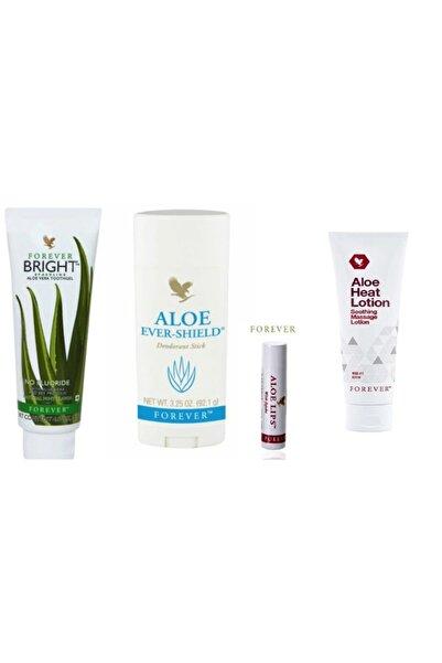 Forever Diş Macunu + Deodorant + Aloe Lips Ve Aloe Heat Lotion (losyon)