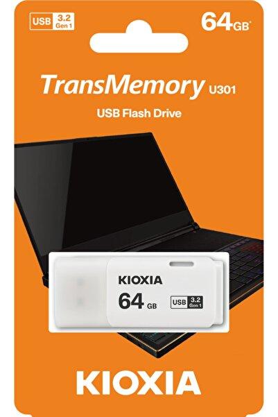 Toshiba 64gb Usb3.2 Gen1 Kıoxıa Beyaz Usb Bellek Lu301w064gg4