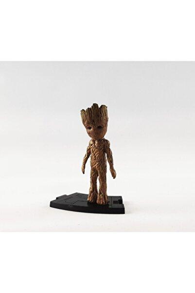 MARVEL Avengers Endgame Action Figure - Yenilmezler Figür Biblo - 8 Cm - Groot Karakter