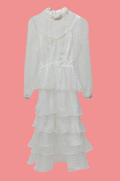 Barrus Kadın Tül Elbise
