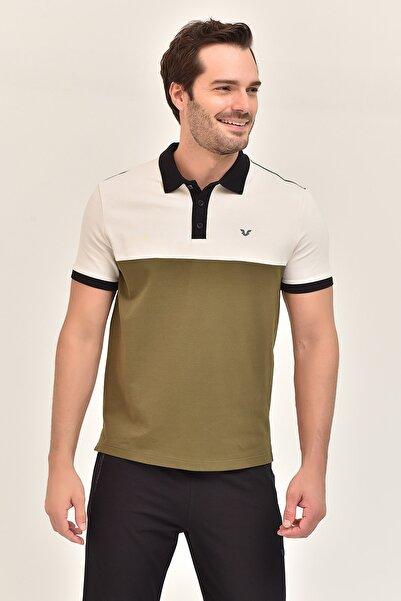 bilcee Yeşil Büyük Beden Erkek T-Shirt GS-8981