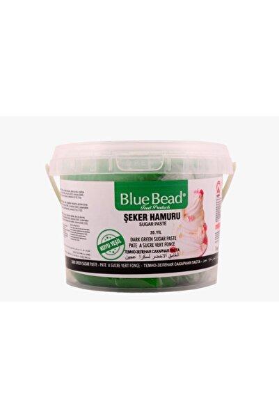 Blue Bead Koyu Yeşil Şeker Hamuru 1 kg