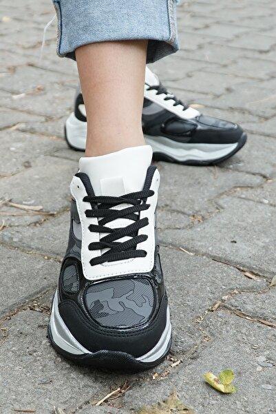 Laguna Kadın Siyah Spor Ayakkabı