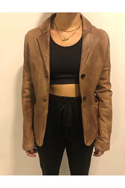 ASUS Kadın Kahverengi Baıley Ceket