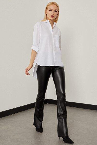 Arma Life Kadın Beyaz Şamre Oxford Gömlek