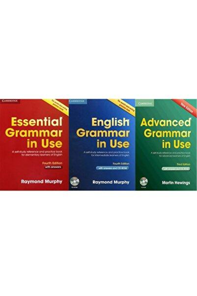 Cambridge University Press Essential Grammar In Use+grammar In Use+advanced Grammar In Use +cd