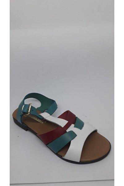 Mammamia Kadın Renkli Sandalet