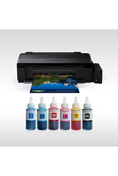 EPSON L1800 Its Photoink 6 Renk Bitmeyen Kartuşlu A3+ Yazıcı